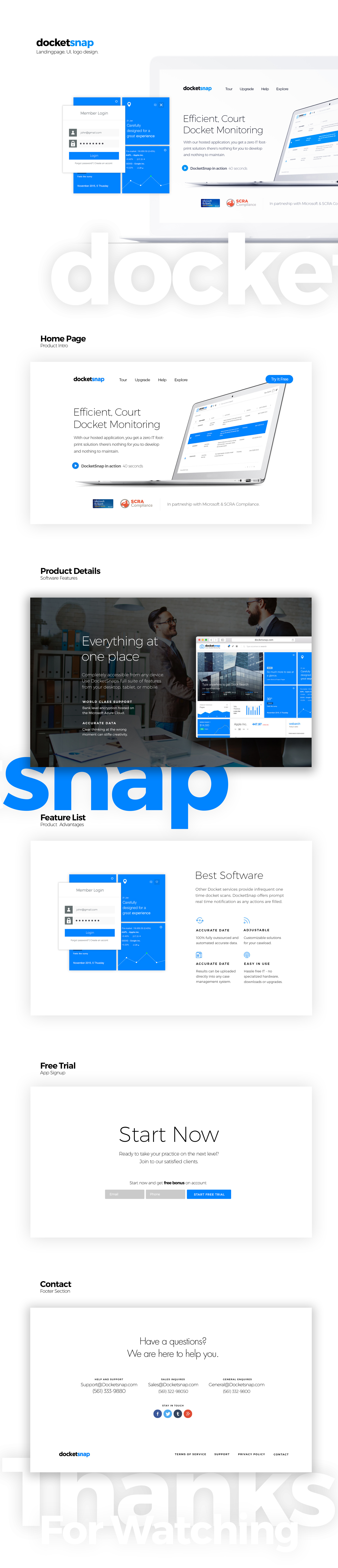 Best Landingpage design by Maciej Olbrycht